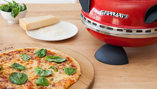 pizza fatta col forno per pizza ferrari g3