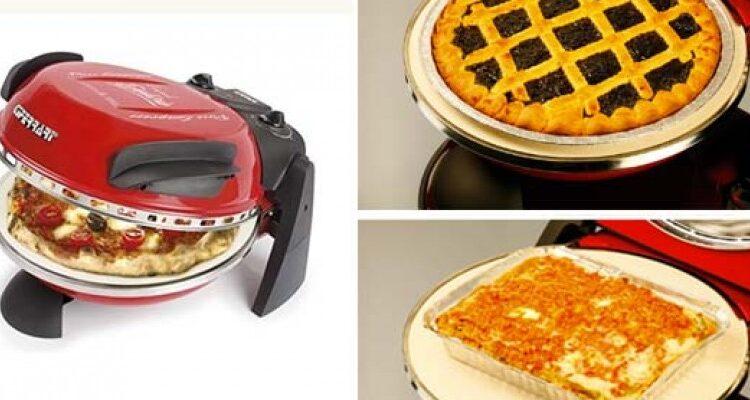 crostata o pasta al forno nel forno elettrico per pizza ferrari g3